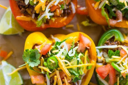 Recipe: Skinny Low-Carb Bell Pepper Tacos