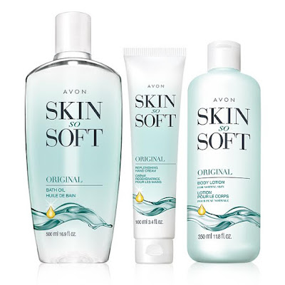 avon catalog skin so soft luxury trio