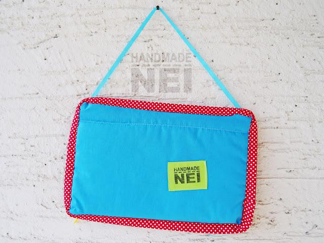 "Handmade Nel: Табелка за име от плат ""Иво"""