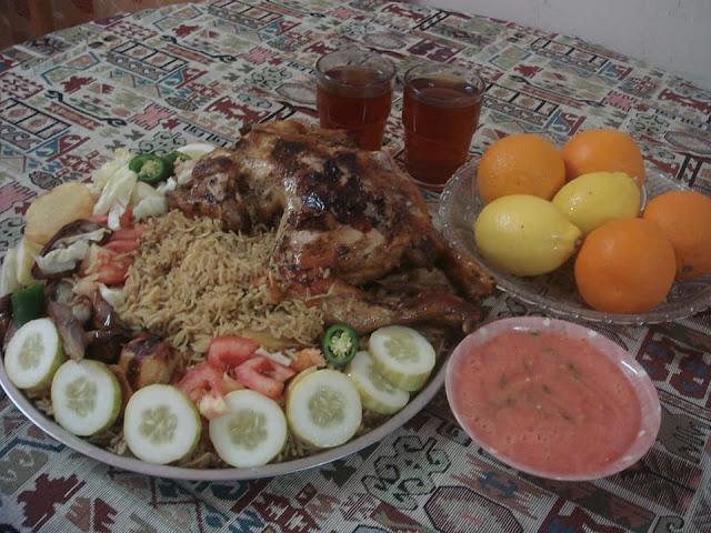 Resepi Nasi Maqlubah  hidangan tradisional orang Arab
