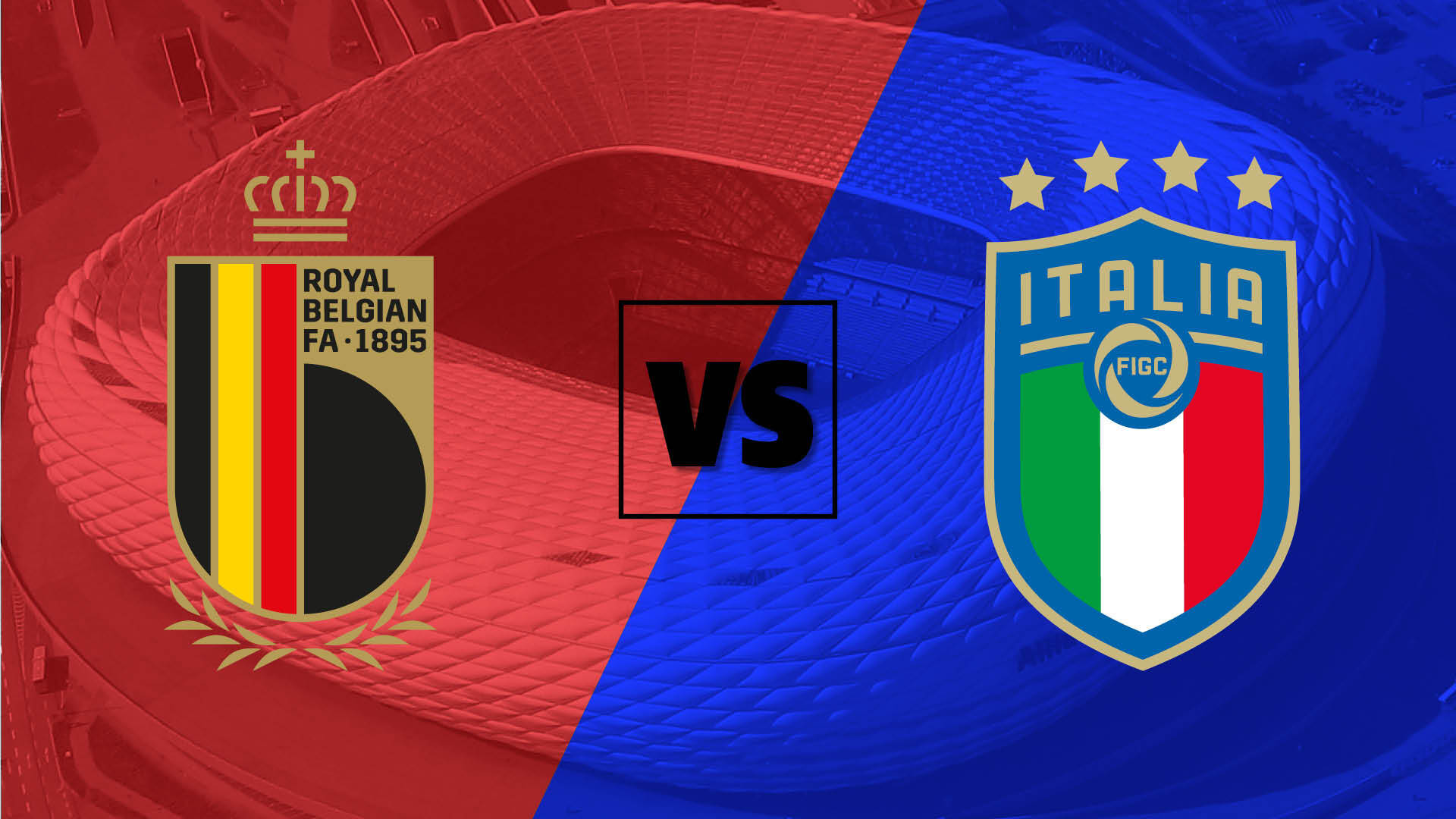 بث مباشر مباراة ايطاليا وبلجيكا