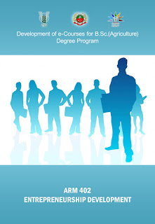 Entrepreneurship Development and communication skills ICAR E course Free PDF Book Download e krishi shiksha