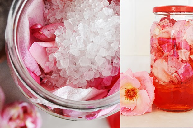 Rose Syrup Recipe - shewandersshefinds.com