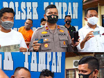 Pelaku Curas Yang Tewaskan Korban IRT, Berhasil Digulung Polisi Polsek Tampan