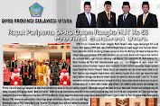 DPRD Prov. Sulut Gelar Paripurna Dalam Rangka HUT Provinsi ke - 56