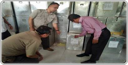 Sebelum Didistribusikan, Pjs Wako Padang Tinjau Kesiapan KPU