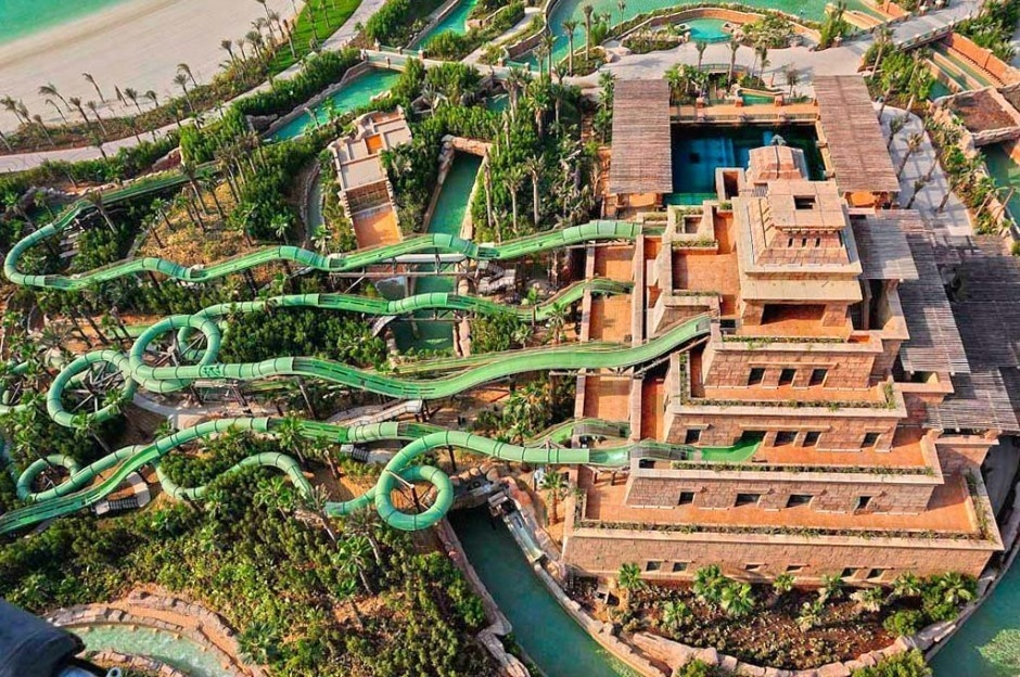 #2. Master Blaster Water Coasters, Dubai - The World's 25 Scariest Waterslides… I'm Surprised #6 Is Even Legal.