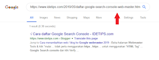 cara cek artikel yang sudah ada di google