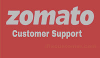Zomato customer care no