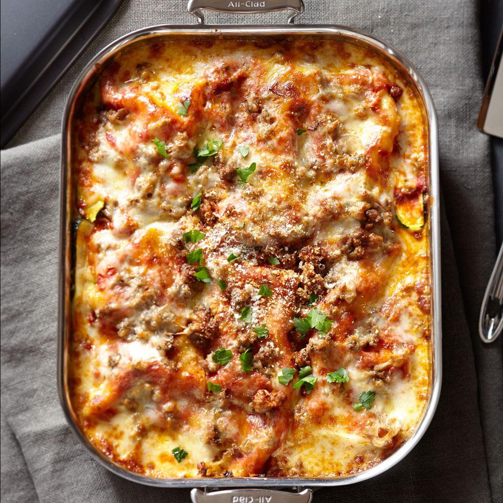 No-Noodle Zucchini Lasagna Recipe