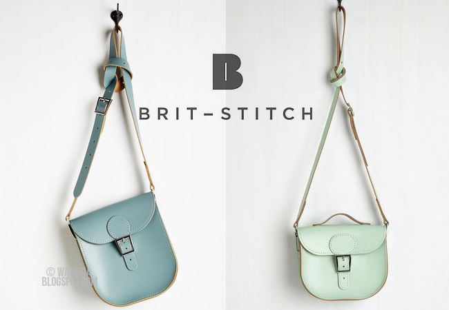 Casual Friday e le borse Brit-Stitch