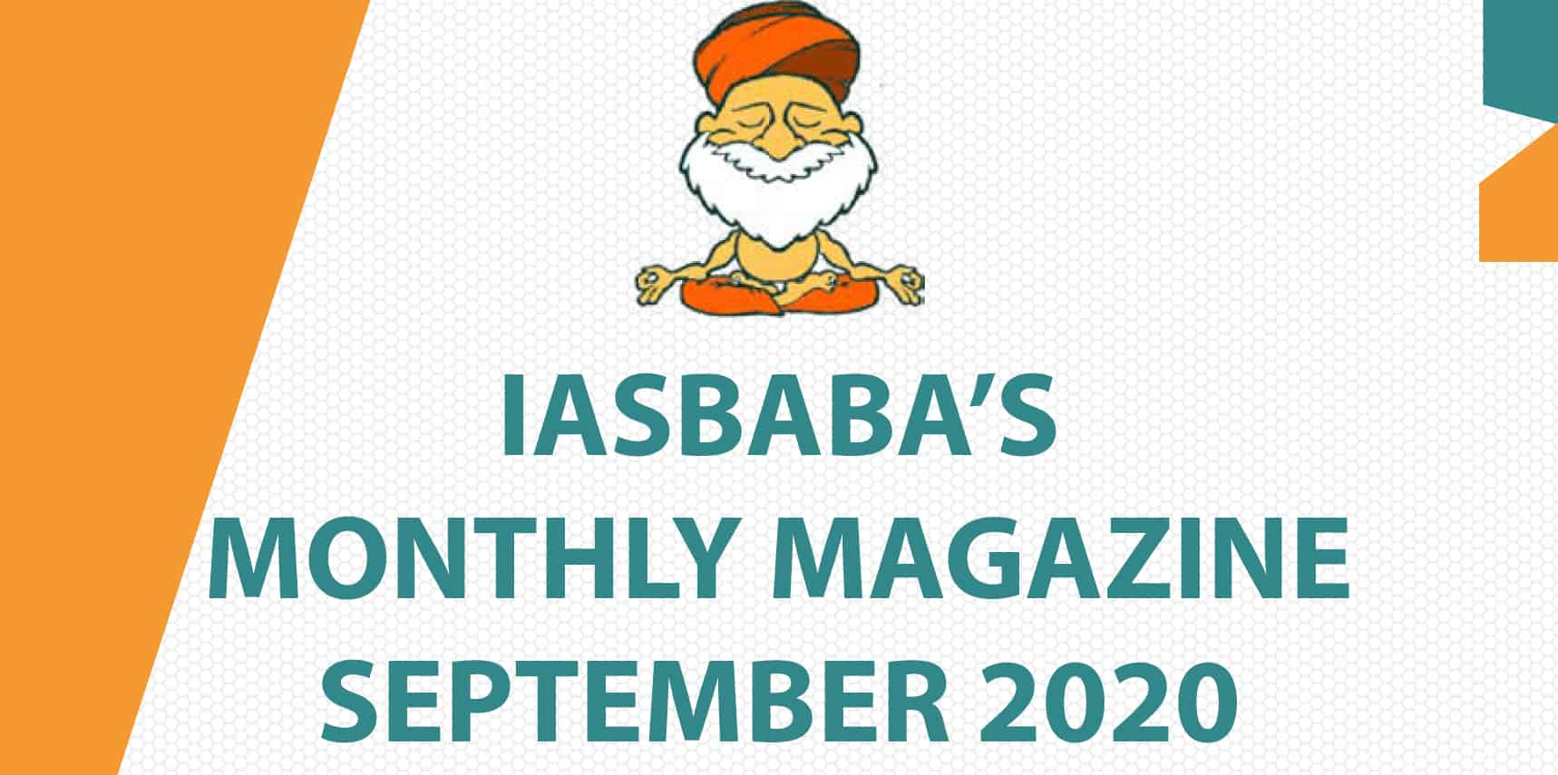 IAS baba Current Affairs September 2020