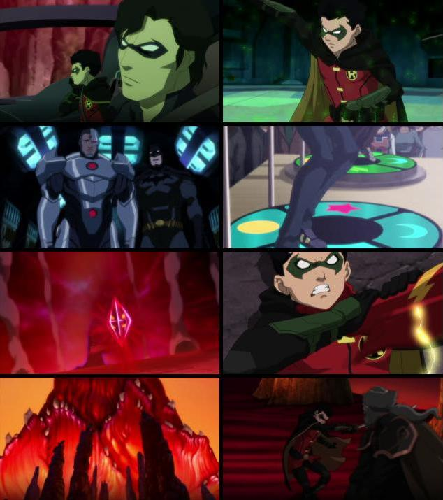 Justice League vs Teen Titans 2016 English 720p WEB-DL