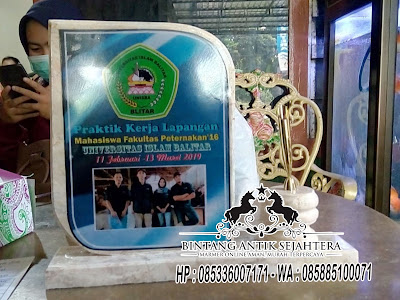 Vandel Marmer Wisuda, Vandel Marmer Tulungagung, Vandel Marmer Pen Holder
