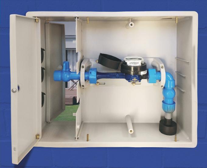 Nova padronização para instalação de hidrômetros vai exigir que cliente compre caixa adequada