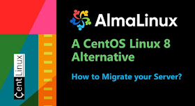 Migrate CentOS 8 Operating System to AlmaLinux