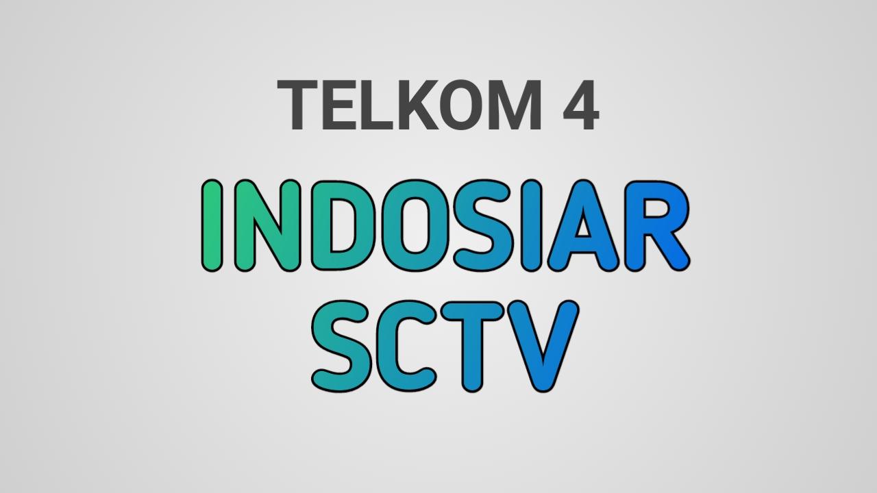 Frekuensi SCTV & Indosiar Di Telkom 4