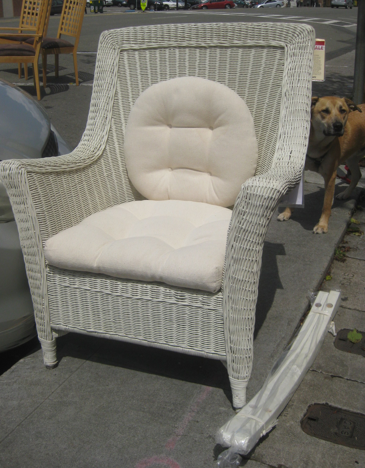Pier One Wicker Chairs Uhuru Furniture And Collectibles Sold Pier 1 Wicker Chair