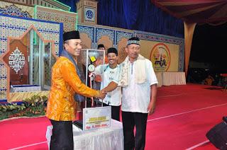 Gunungsari Raih Juara Umum MTQ XXVIII Tingkat Kabupaten Lombok Barat