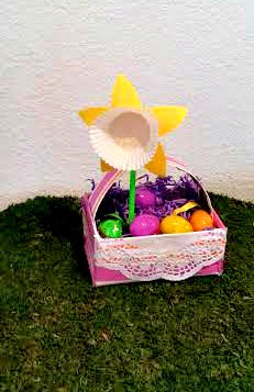 Kids' Crafts, Easter Basket