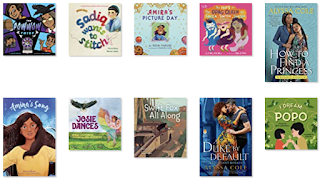 Cover images of the books listed below the image.