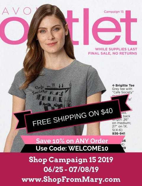 Avon Outlet Clearance Sales Campaign 15 2019