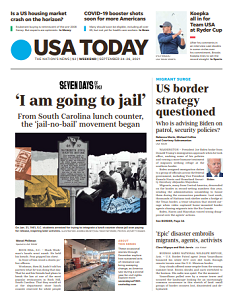 Read Online USA Today Magazine 24 To 26 September 2021 Hear And More USA Today News And USA Today Magazine Pdf Download On Website.