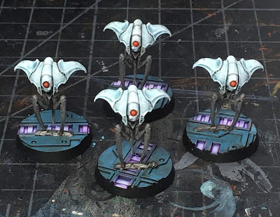 Blackstone Fortress Spindle Drones WIP