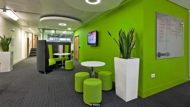 Xu hướng thiết kế nội thất văn phòng năm 2018