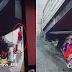 PANOORIN!   Pagnanakaw ng Lalaki sa Lola na Natutulog sa ilalim ng Footbridge, Huli sa CCTV