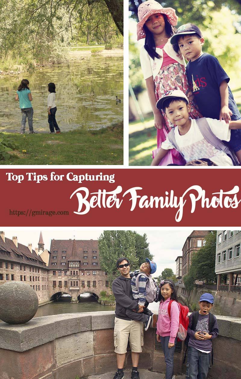 Wondering how to get the most out of your next family photo shoot? Follow these top tips for capturing better family photos. You'll be sure to shoot moments that will be treasured for generations.