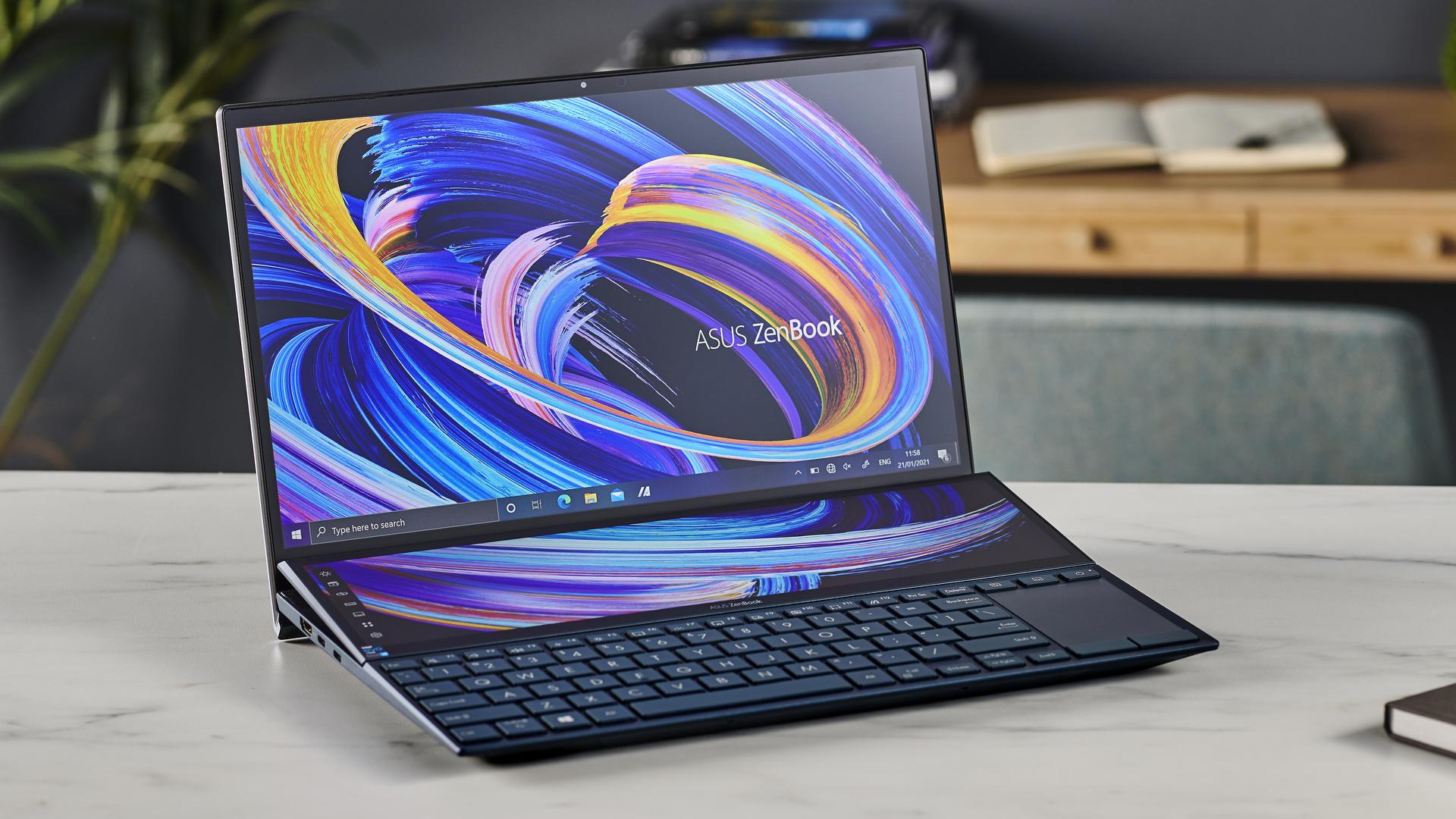 Spesifikasi dan Harga Asus ZenBook Duo 14 UX482E, Laptop Canggih dengan Dua Layar