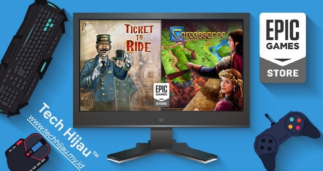 Ticket to Ride dan Carcassonne - Tech Hijau my id