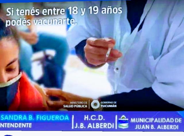 Tucumán vacunara a jóvenes entre 18 a 19 años