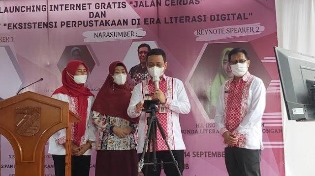 Internet Gratis Jalan Cerdas Kota Pekalongan Diluncurkan, Ini Kata Inggit