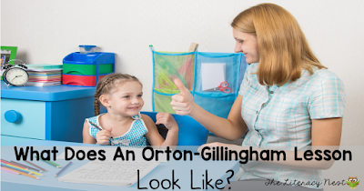 Orton-Gillingham lesson plan ideas