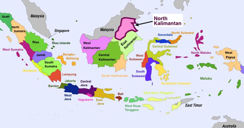 Nama 34 Propinsi Di Indonesia Dan Ibukotanya Geograph88