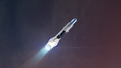 Blue Origin, i nuovi dettagli sui piani per raggiungere l'orbita Terrestre nel 2020, conosciamo New Glenn!