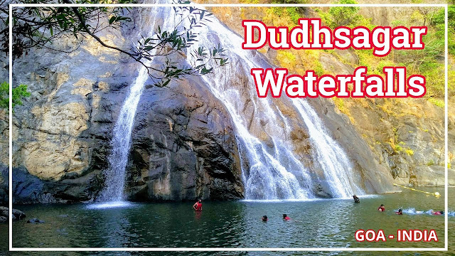 Dudhsagar Waterfalls Gopa India