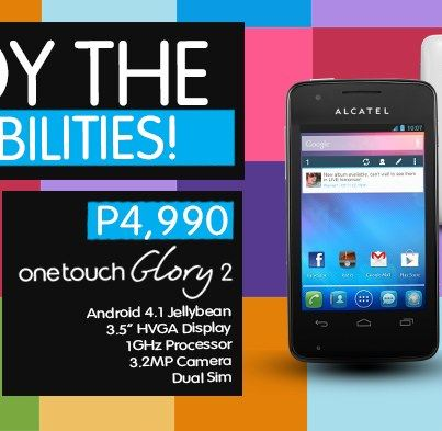 mynameiskhan: Alcatel One Touch Glory 2 Running in Android Jellybean