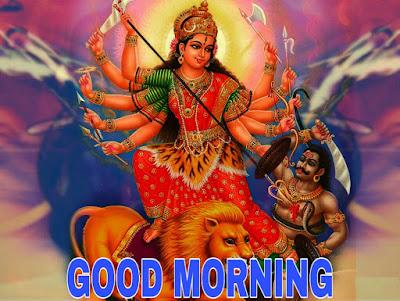 good morning images god durga