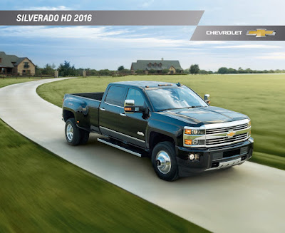 Downloadable 2016 Chevrolet Silverado 2500HD Brochure