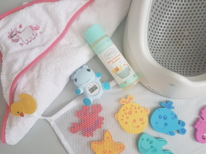 Baby Bath Time Favourites