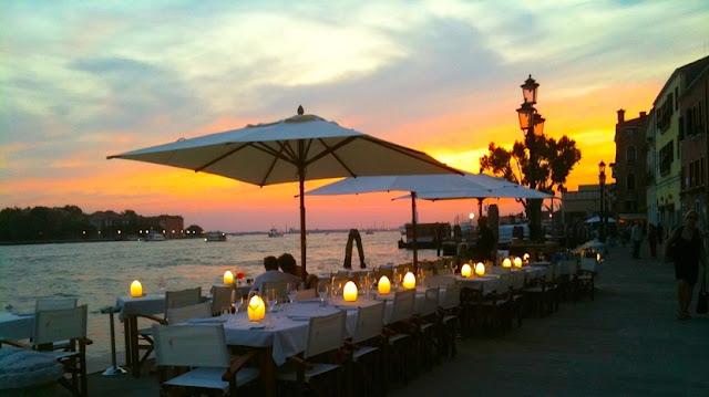 Ristorante Riviera em Veneza na Itália
