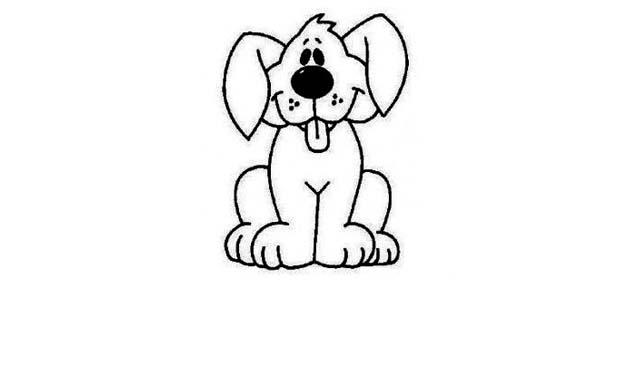 cómo dibujar perros fáciles para niños