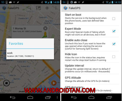 Cara Install Fake Gps Location Spoofer Pro Apk Download