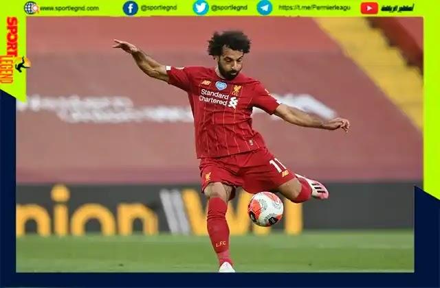 الدوري الانجليزي..محمد صلاح يحقق خمسة ارقام جديدة بفوز ليفربول