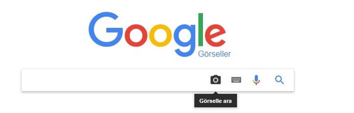 google görsellerde arama yapma işlemi