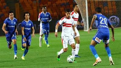 التشكيل الرسمي لمواجهة الزمالك ضد أسوان في الدوري المصري