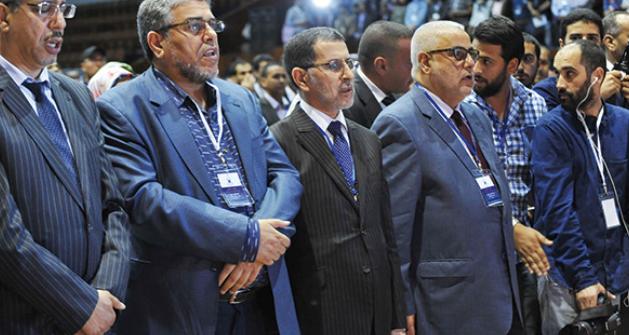 """""""مجموعة العمل من أجل فلسطين"""" تُجمّد عضوية حزب العدالة والتنمية"""